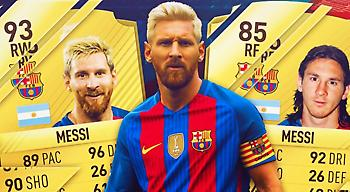 Πόσο άλλαξε το Top-5 των ποδοσφαιριστών από το FIFA 07 έως το FIFA 17!