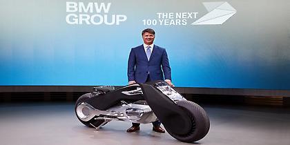 Νέο φουτουριστικό όχημα της BMW από το μακρινό μέλλον