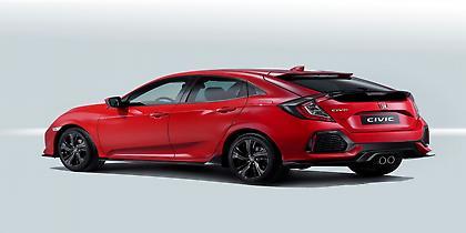 Νέο πεντάθυρο Honda Civic