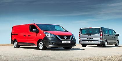 Νέο Nissan NV300, επαγγελματικό και επιβατικό (video)