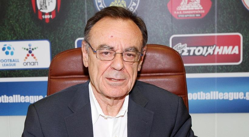 Σφακιανάκης στον ΣΠΟΡ FM 94,6: «Όλα γίνονται για την Σούπερ Λίγκα»