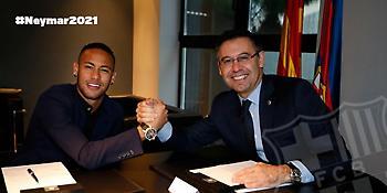 Υπέγραψε το νέο συμβόλαιο με την Μπάρτσα ο Νεϊμάρ
