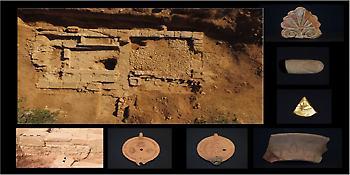 Αποκαλύφθηκαν για πρώτη φορά in situ οικοδομικά κατάλοιπα της αρχαίας Τενέας