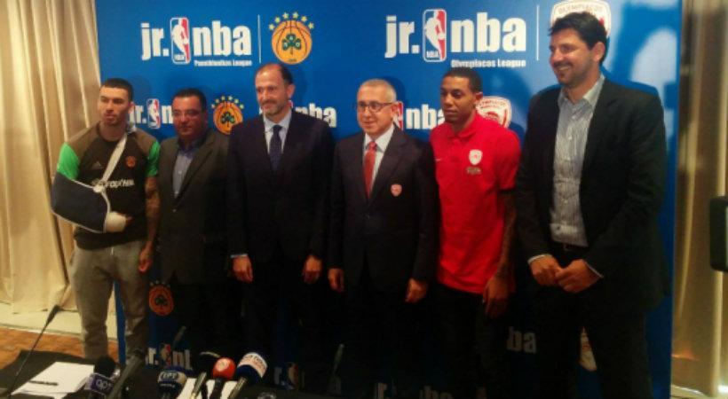 Επισημοποιήθηκε η συνεργασία του ΝΒΑ με Παναθηναϊκό-Ολυμπιακό!