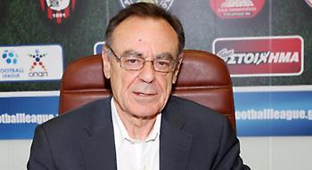 Παραιτήθηκε από την προεδρία της Football League ο Σφακιανάκης
