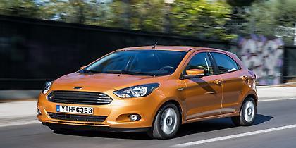 Νέο Ford Ka+ με 10.970 ευρώ (video)