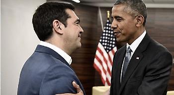 Πανηγυρικοί τόνοι Μαξίμου για την επίσκεψη Ομπάμα: Ταυτίζεται με το χρέος