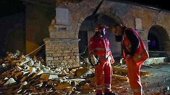 Νέος σεισμός στην Ιταλία - 4,7 Ρίχτερ ταρακούνησαν τη χώρα