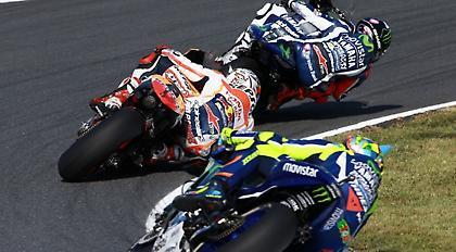 Ο Λορένθο νικητής στο φινάλε του Moto GP