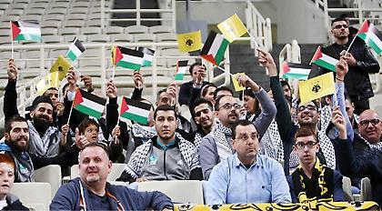 Η Κυπελλούχος Παλαιστίνης στο ΑΕΚ-Προμηθέας (pics)