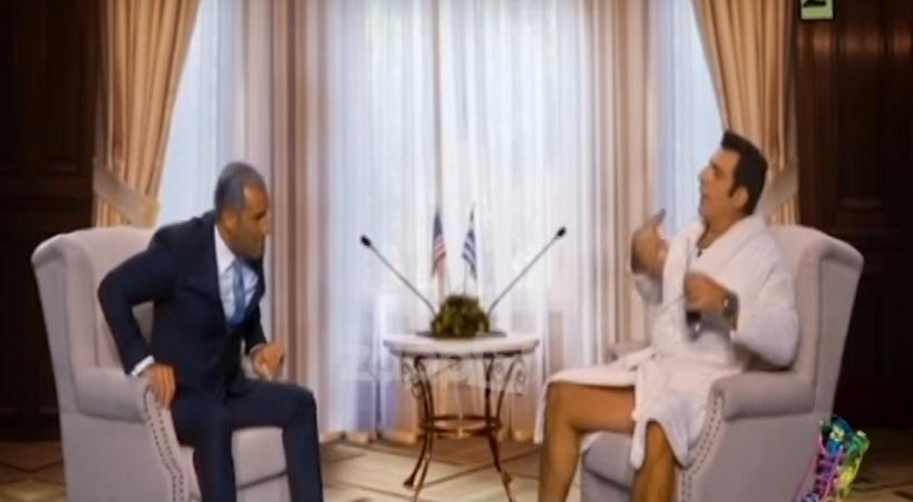 Ράδιο Αρβύλα: Κανάκης-Σερβετάς σε ρόλο Ομπάμα-Τσίπρα (video)