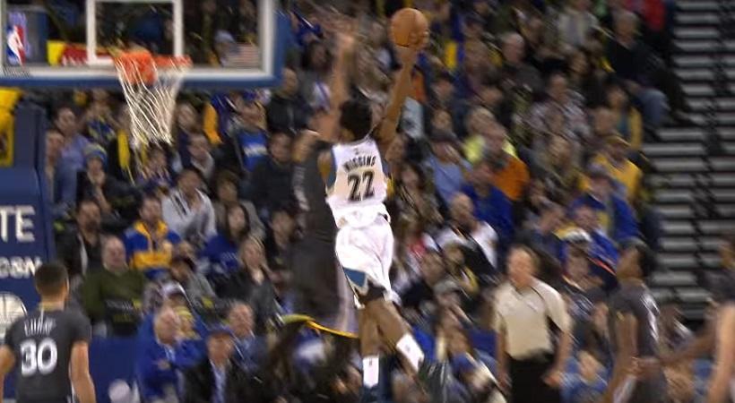 NBA: Απίστευτος Γουίγκινς στο Top 5 (video)