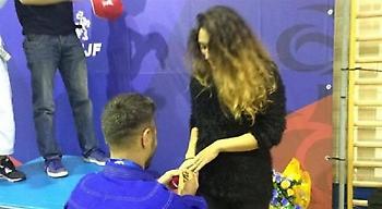 Παραμυθένια πρόταση γάμου Χανιώτη πρωταθλητή (video)