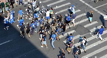 «Βράζουν» οι οπαδοί του Ηρακλή, που πήγαν πορεία στην ΕΤ3 μετά το «λουκέτο» στο Καυτανζόγλειο!