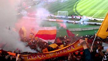 Σεκιουριτάς «τρελαίνεται» στο γκολ της Ρόμα (video)