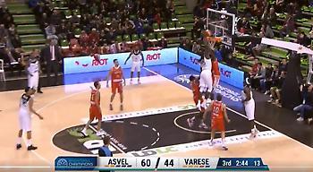 ΑΠΙΣΤΕΥΤΟ κάρφωμα στο Basketball Champions League (video)