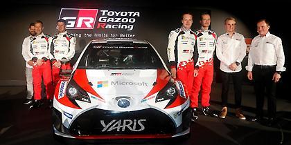 Ανυπόμονη η Toyota για την επιστροφή της στα ράλι