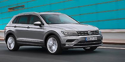 Κορυφαίο σε ασφάλεια στην κατηγορία του το VW Tiguan