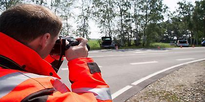 Σε 24 ώρη βάση δουλεύει το τμήμα έρευνας ατυχημάτων της Volkswagen