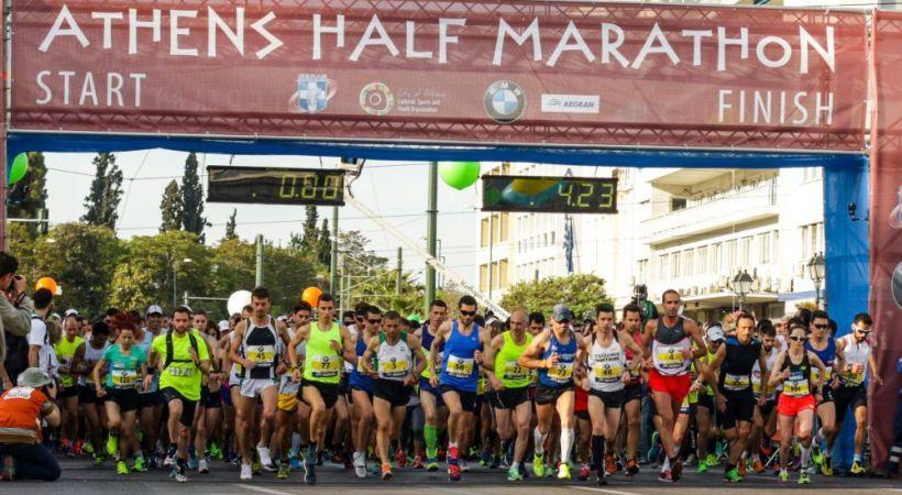 Ανοίγουν σήμερα οι εγγραφές για τον Ημιμαραθώνιο της Αθήνας