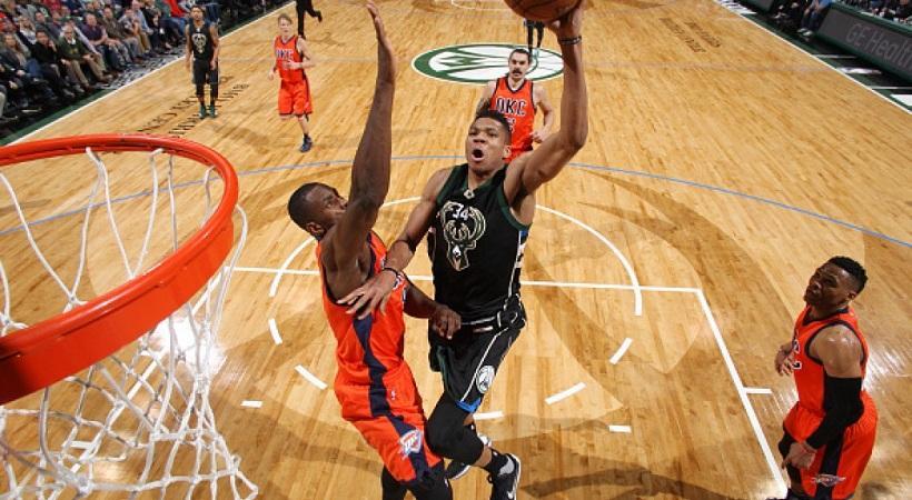 NBA: Στο Top 10 των καρφωμάτων για το 2016 ο Γιάννης Αντετοκούνμπο (video)