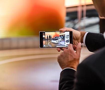 H BMW i δοκιμάζει εφαρμογή οπτικοποίησης επαυξημένης πραγματικότητας