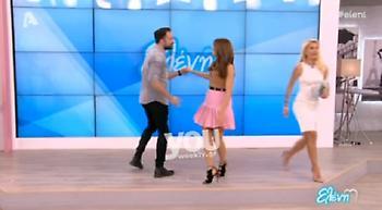 Ο αισθησιακός χορός της Σταματίνας Τσιμτσιλή!