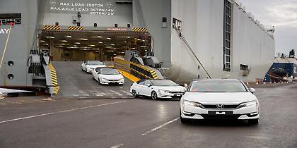 Το πρώτο Honda Clarity Fuel Cell έφτασε στην Ευρώπη