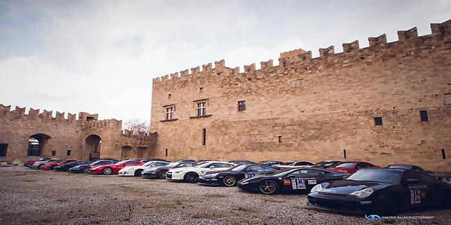 Supercars μάγεψαν 15.000 κόσμο στη Ρόδο