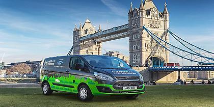 Το Λονδίνο δοκιμάζει νέα Plug-in υβριδικά Van της Ford