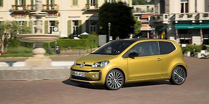 VW up! και με χιλιάρη turbo κινητήρα