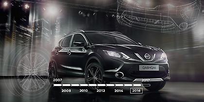 10 χρόνια Nissan Qashqai (video)