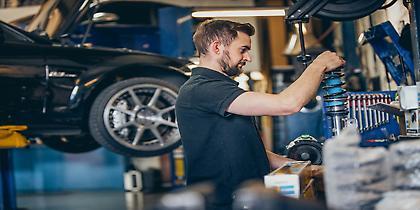 Βελτιώνοντας ένα Muscle-Car