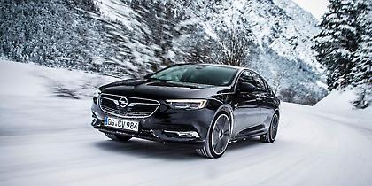 Νέο Opel Insignia Grand Sport που δεν φοβάται τον... χειμώνα