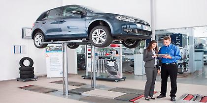 Εκπτώσεις σέρβις για VW άνω των 4 ετών