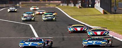 Τα Ford GT σε πλήρη σύνθεση στις 24 Ώρες του Le Mans