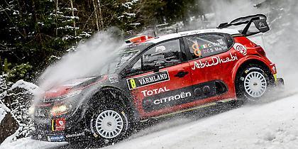 O Οστμπεργκ με Fiesta πιο γρήγορος στα χιόνια (video)
