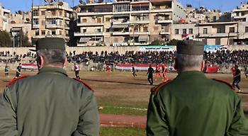 Χαλέπι, ποδόσφαιρο στα συντρίμμια του πολέμου