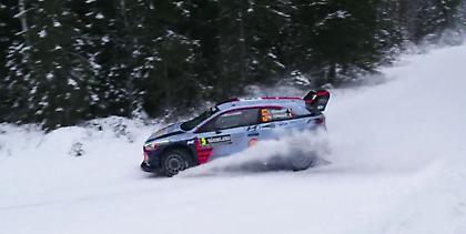 Επικεφαλής ο Νεβίλ με Hyundai στα χιόνια της Σουηδίας (video και με ατυχήματα)