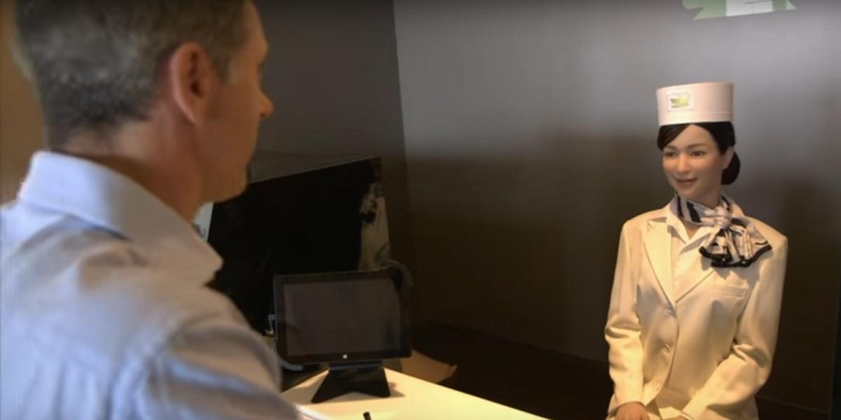 Το ιαπωνικό ξενοδοχείο που λειτουργεί αποκλειστικά με ρομπότ (video)