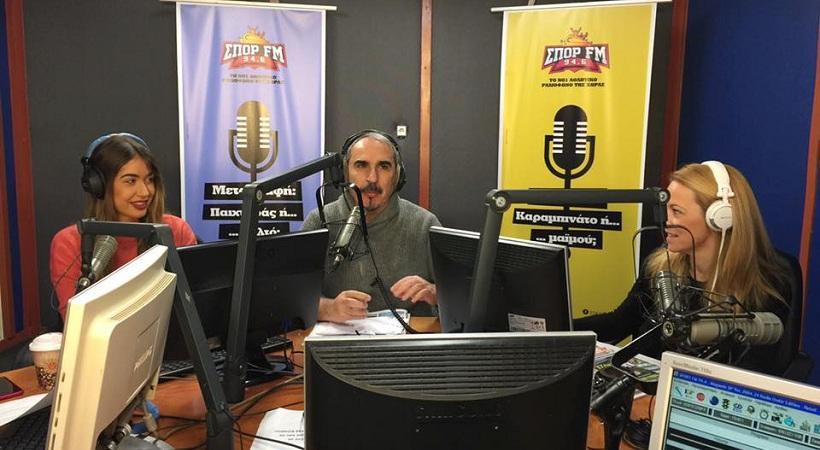 Η δυναμική πρεμιέρα του Desperado στον ΣΠΟΡ FM (video)