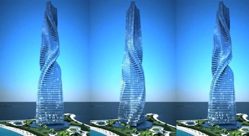 Περιστρεφόμενος ουρανοξύστης στο Ντουμπάι (video)