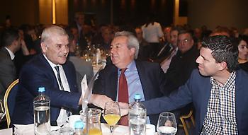 Στην κοπή πίτας της ΕΠΣ Αθηνών ο Μελισσανίδης