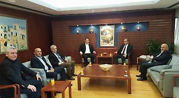 Ρεπορτάζ της παγκόσμιας ομοσπονδίας για την επίσκεψη Πύρρου και Κορλού στην Κύπρο