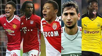 ΘΕΜΑ: Αυτοί είναι οι 30 καλύτεροι παίκτες κάτω των 20 ετών στην Ευρώπη (pics)