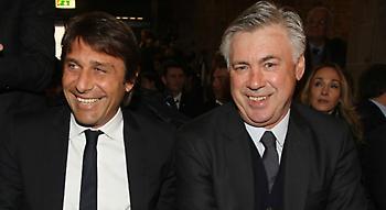 Κόντε: «Καλύτερος Ιταλός προπονητής ο Αντσελότι»