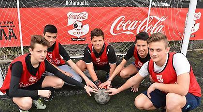 Πανδαισία σε Λάρισα και Τρίκαλα για το Coca-Cola Cup