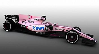 Ομάδα της Formula 1 ντύθηκε στα ροζ!
