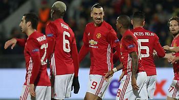 Με τρεις ποδοσφαιριστές της Μάντσεστερ Γιουνάιτεντ η κορυφαία ενδεκάδα του Europa League