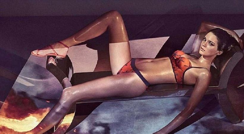 Η Κένταλ Τζένερ με σέξι εσώρουχα (pics)